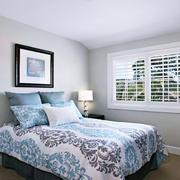 17平米美式风格小卧室设计装修效果图鉴赏