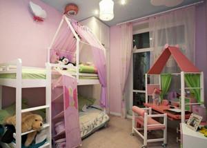 欧式风格三居室儿童房装修效果图鉴赏
