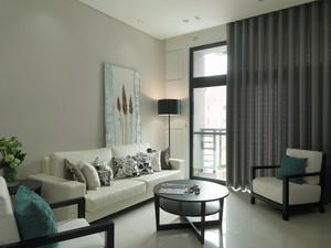 现代简约风格二居室室内装修效果图鉴赏