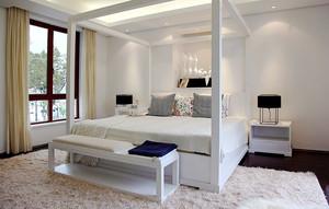 23平米现代简约风格卧室装修效果图赏析