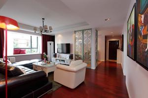 136平米新古典主义风格三室两厅一卫装修效果图