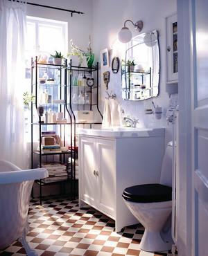 8平米北欧风格小户型卫生间装修效果图大全
