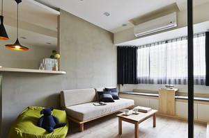 55平米宜家风格简约小公寓装修效果图