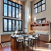 温馨唯美后现代风格室内吧台装修效果图
