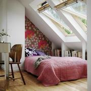 宜家北欧风格大户型阁楼卧室装修效果图