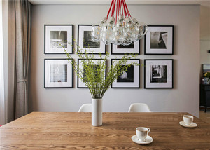 北欧风格两室一厅室内装修效果图赏析