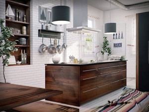 60平米北欧风格小厨房装修设计效果图赏析