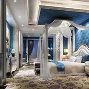 法式风格别墅主卧室设计装修效果图赏析
