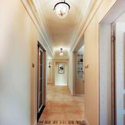 现代美式风格别墅家装过道吊顶装修效果图