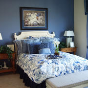 美式风格小户型卧室装修设计效果图赏析