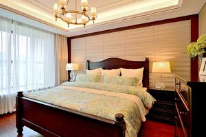 157平米美式田园风格大户型室内装修效果图鉴赏