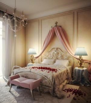 120平米欧式风格婚房设计装修效果图赏析