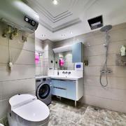12平米现代简约风格卫生间装修效果图鉴赏