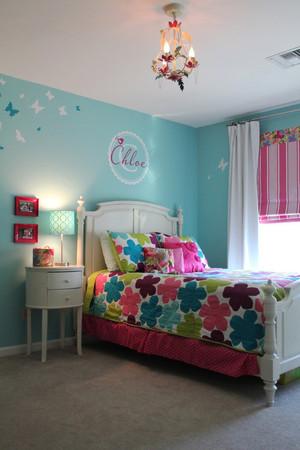 28平米简欧风格儿童房间装修效果图鉴赏