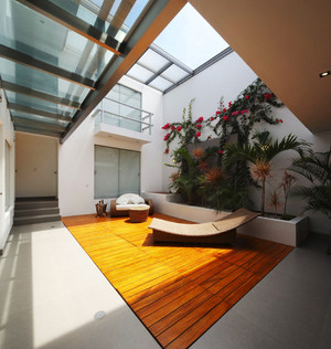 现代风格别墅入户花园设计效果图鉴赏