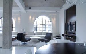 现代简约风格精致别墅室内整体装修效果图鉴赏
