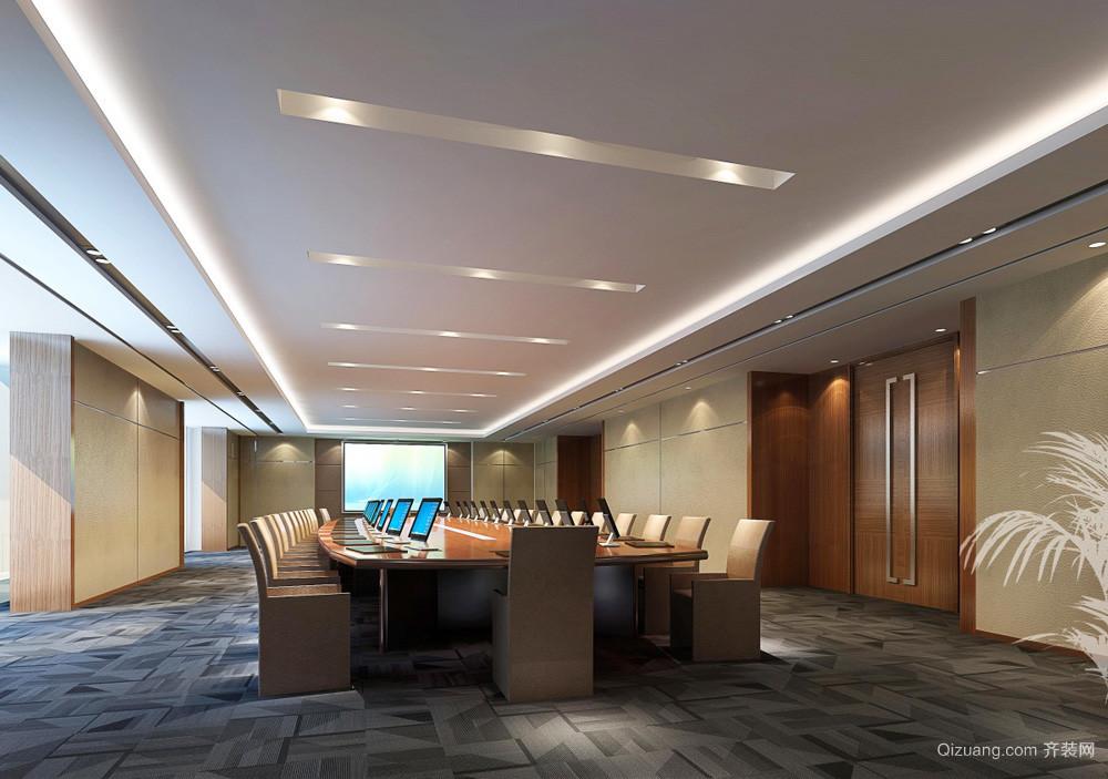 90平米现代风格会议室装修设计效果图赏析