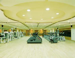 420平米简约风格健身房装修效果图鉴赏