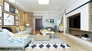 北欧风格小户型室内家居装修设计效果图赏析