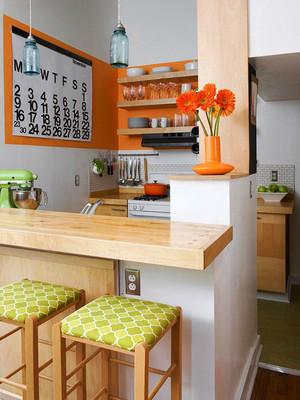 60平米北欧风格家装小吧台设计效果图赏析