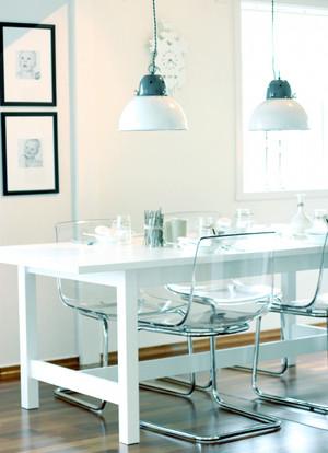 北欧风格小户型餐厅背景墙设计效果图赏析