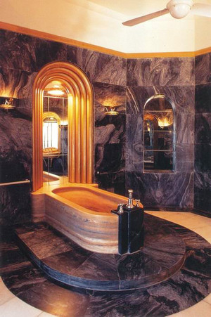 现代风格大户型豪华卫生间装修效果图赏析