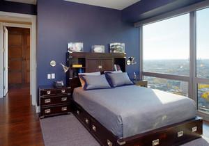 26平米混搭风格卧室装修设计效果图鉴赏