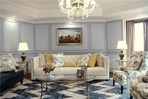 简欧风格两室两厅室内装修效果图鉴赏