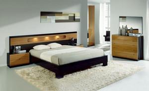 简约风格三居室卧室背景墙设计效果图赏析