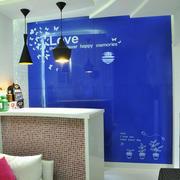 简欧风格小户型家庭客厅吧台装修设计效果图赏析