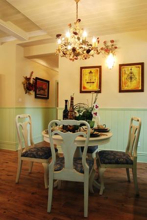 欧式田园风格两居室室内装修效果图鉴赏
