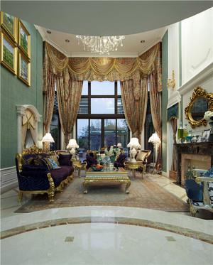 新古典主义风格别墅室内装修效果图鉴赏