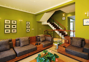宜家风格别墅客厅照片墙设计效果图赏析