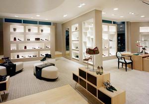 111平米现代风格鞋店装修效果图鉴赏