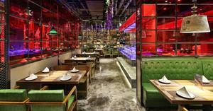 166平米东南亚风格餐厅装修效果图赏析