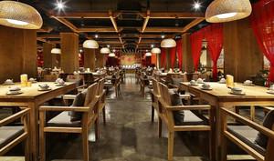 196平米东南亚风格餐厅装修效果图鉴赏
