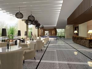 234平米现代风格咖啡厅装修效果图鉴赏