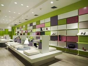 166平米现代风格鞋店装修效果图鉴赏