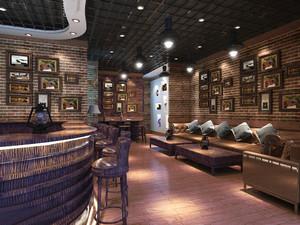 200平米现代风格酒吧装修效果图赏析