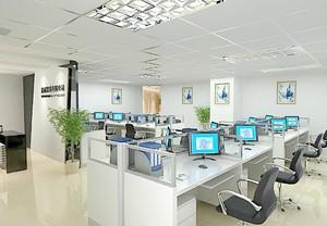 120平米精致办公室室内设计装修效果图