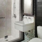 8平米现代简约风格小卫生间设计装修效果图