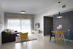 90平米现代简约风格两室两厅室内装修效果图