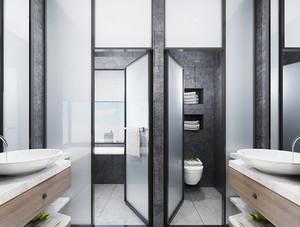 139平米北欧风格两室一厅室内装修效果图赏析