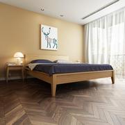 31平米北欧风格卧室窗帘设计效果图鉴赏