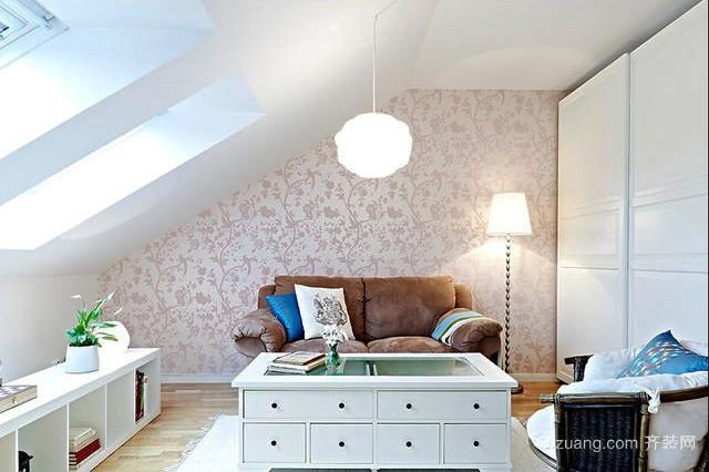 145平米简欧风格阁楼客厅装修效果图赏析