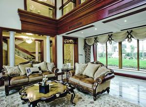 古典欧式风格别墅室内整体装修效果图赏析