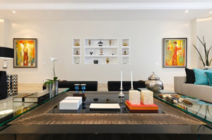 后现代风格小户型客厅装修效果图鉴赏