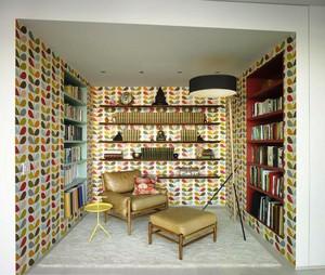 14平米混搭风格小书房装修设计效果图鉴赏