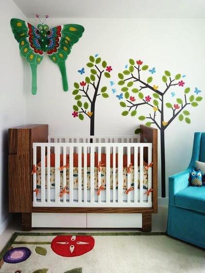 19平米简欧风格婴儿房设计装修效果图