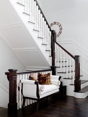 欧式风格别墅楼梯装修设计效果图赏析